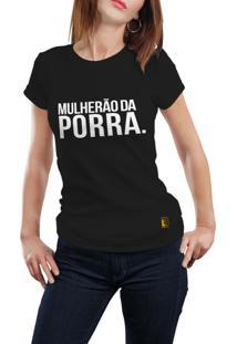 Camiseta Hunter Mulherão Preta