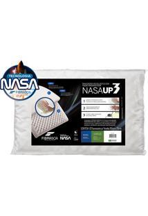 Travesseiro Nasa Up3 - Fibrasca - Branco