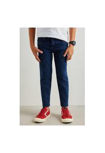 Calca Mini Jeans Combate Azul Casual Reserva Mini Azul