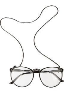 Corrente De Óculos Higher Little Rock Prata