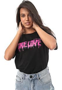 Camiseta Cavalera One Love Preta
