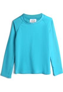 Camiseta Pimpolho Menino Lisa Azul - Azul - Menino - Poliã©Ster - Dafiti