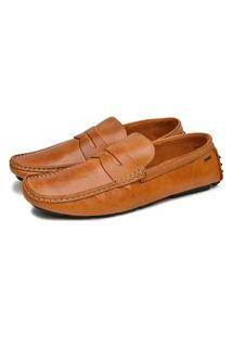 Mocassim Driver Gommix Shoes Couro Wisk