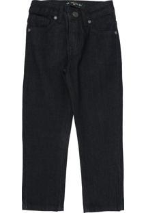 Calça Jeans Colcci Kids Infantil Lisa Azul-Marinho