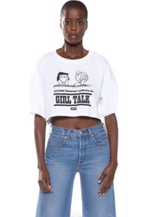 Camiseta Levis Graphic Crop Slacker Snoopy - Xs