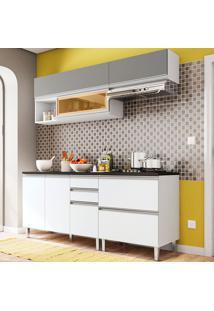 Cozinha Compacta 6 Peças Evidence - Poliman - Branco