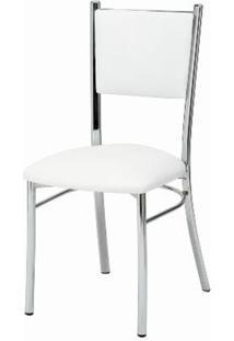 Cadeira Estofada Korino Branco 12248 - Sun House