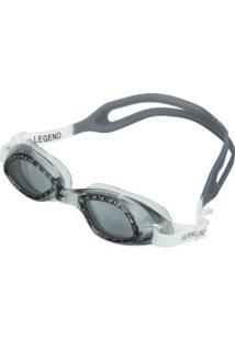 Óculos De Natação Speedo Legend - Adulto - Cinza Escuro