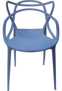 Cadeira De Jantar Allegra Azul Caribe