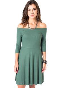 Vestido Estampado Mercatto 1765430 Verde
