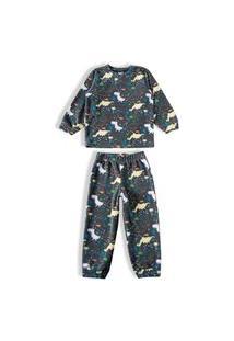 Pijama Conjunto Tip Top Dinossauro Mescla