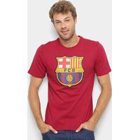 bf400288f3 Camiseta Barcelona Nike Evergreen Crest Masculina - Masculino