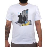 1c5e6789d1 El Cabriton. Twice The Fun - Camiseta Clássica Masculina-Branca-G