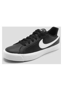 Tênis Nike Sportswear Court Royale Ac Preto/Branco