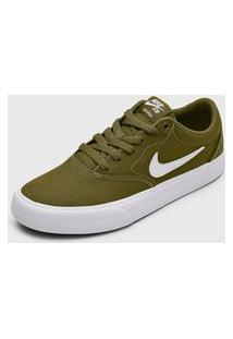 Tênis Nike Sb Charge Slr Verde