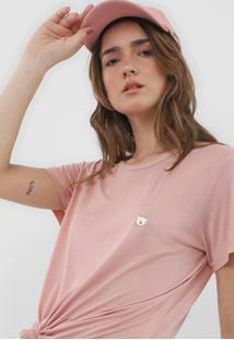 Camiseta Coca-Cola Jeans Urso Rosa - Kanui