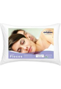 Travesseiro Flocos Conforto 40 Cm (Larg) - 52730 - Sun House