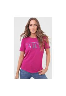 Camiseta Morena Rosa Be Art. Rosa