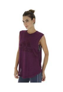 2a1d14531c6f8 Camiseta Regata Adidas Winners - Feminina - Roxo