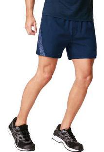 3d65a8e8261b6 Shorts Esportivo Azul Pratico
