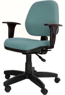 Cadeira Corporate Executiva Cor Verde Com Base Nylon - 43976 - Sun House