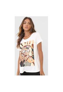 Camiseta Carmim Girl Off-White