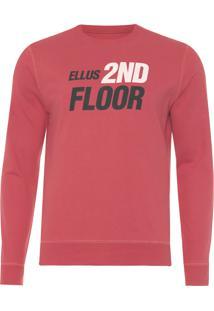 Blusa Masculina Fleece Future - Vermelho
