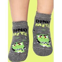 f95194bf4 Meia Soquete Com Solado Emborrachado Dino Baby