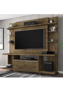 Estante Para Tv Até 55 Polegadas 1 Porta New Torino Rústico - Bechara Móveis