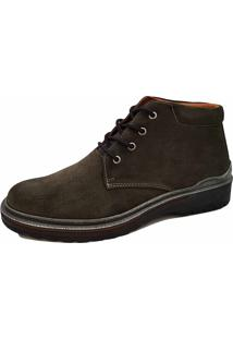 Bota Sartre Casual University Cinza