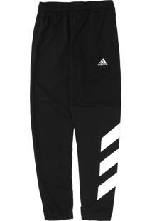 Calça Adidas Performance Infantil Listras Preta
