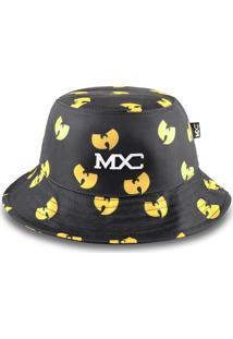 Chapéu Bucket Mxc Wu Tang Clan Preto