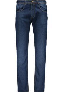 Calças Esportivas Jeans Tom Escuro  0009a1ec389
