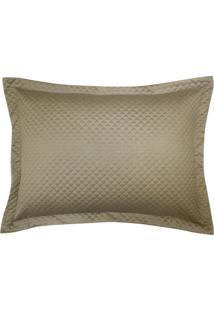 Porta Travesseiro Micromatelasse Nobreza Ouro