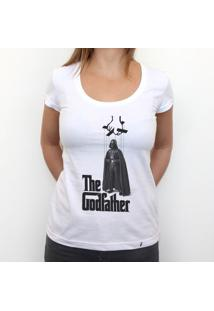 Darth Wader Is The Real Godfather - Camiseta Clássica Feminina