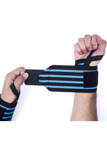 Munhequeira Profissional Crossfit Powerlifting Lpo Pulso - Unissex