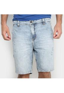 Bermuda Ellus 2Nd Floor Originals Denim Rock Masculina - Masculino-Azul