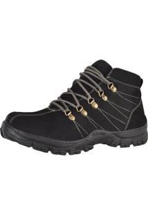 Bota Adventure Difranca Boots 1011 Preta