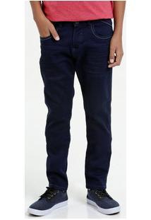 Calça Juvenil Jeans Nervuras Marisa