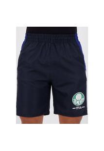 Bermuda Palmeiras Basic Sport Marinho