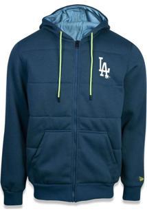 Casaco Moletom Los Angeles Dodgers Neon Light - New Era