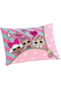 Fronha Lolâ®- Rosa Claro & Pink- 70X50Cm- Lepperlepper