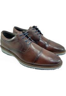 Sapato Rafarillo Couro Liverpool Masculino - Marrom - 44 - Masculino