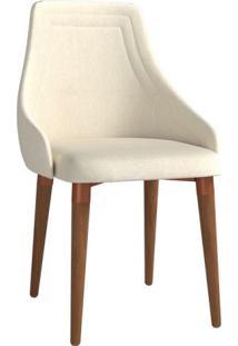 Cadeira Evelyn Bege