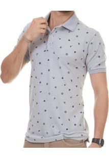 Camisa Pau A Pique Polo Masculina - Masculino e344c003f3576