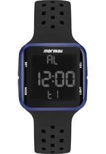 Relógio Digital Mormaii Unissex - Mo6600Ab/8A Preto