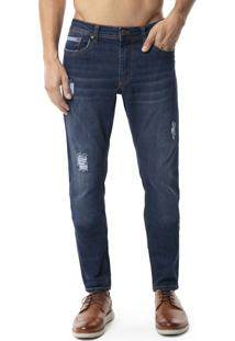 Calça Jeans Skinny Turbohélice Azul