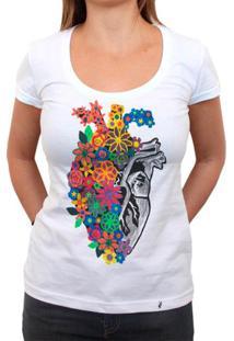 Coração Viciado - Camiseta Clássica Feminina