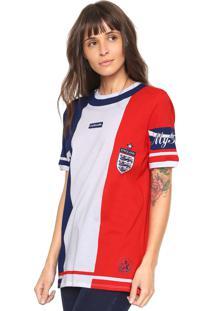 Camiseta My Favorite Thing(S) Inglaterra Azul/Branca/Vermelha