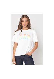 Camiseta Gap Logo Branca